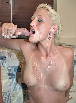 Free Cum on MILF Tits Porn Galleries
