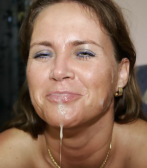 Free MILF Facial Porn Galleries